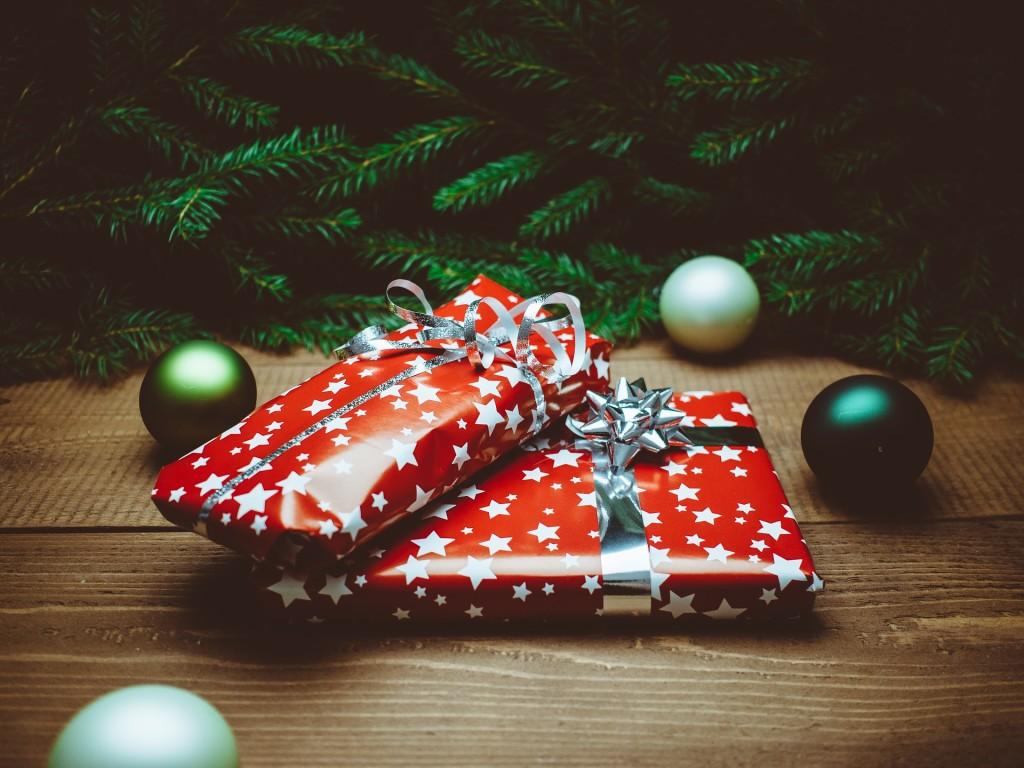 peněženka jako dárek na Vánoce