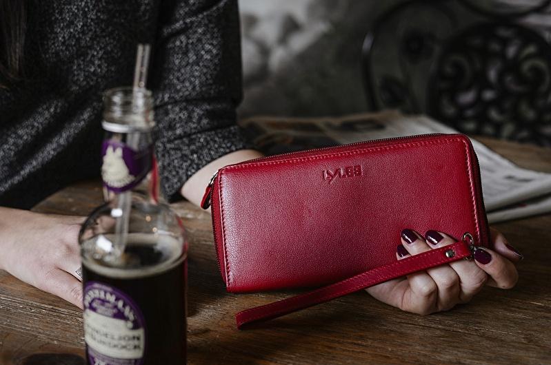 kožená peněženka Lylee Bonnie Red