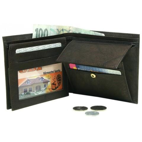 pánská peněženka Lagen s přihrádkou na mince
