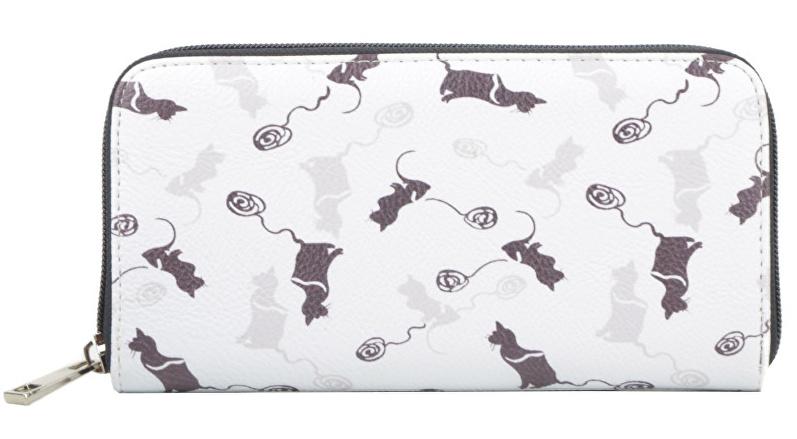 dámská peněženka Lecharme s kočkami