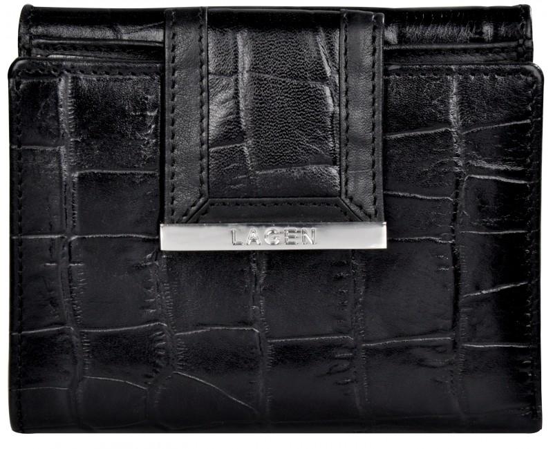 malá dámská kožená peněženka Lagen
