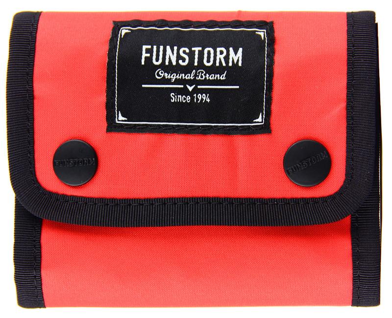 červená pánská peněženka Funstrom Lawnel Red