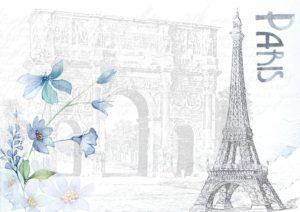 vintage paříž