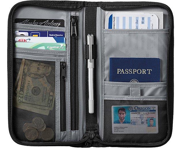 cestovní peněženka Dakine 2 v 1