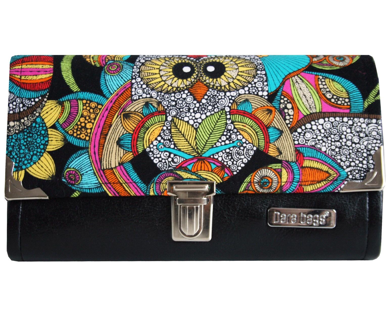 peněženka sova Dara bags - motiv 133