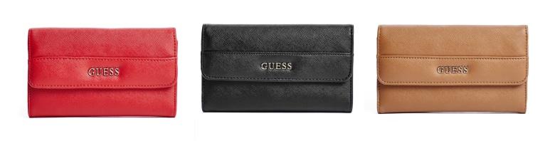 Peněženky Guess Alessandra Slim Wallet