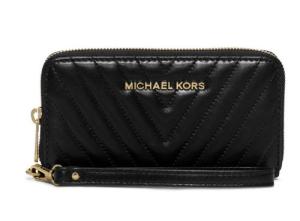 elegantní černá peněženka Michael Kors