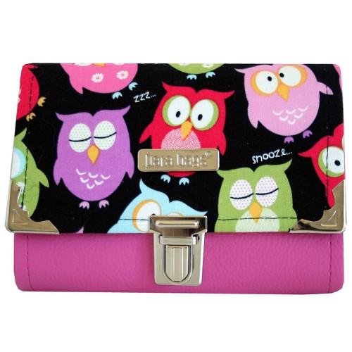 barevné sovy peněženka Dara bags