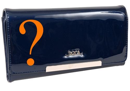 tmavě modrá peněženka Doca 64849